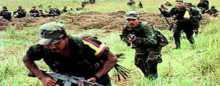 الجيش الكولومبى يقتل 18 متمردا من جماعة فارك
