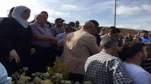 د.غنام تشارك بجنازة والدة الأسير مجد زيادة وتؤكد أن كل أم فلسطينية هي أم لكافة أسرانا