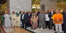 إحتفال  بيوم افريقيا في نادي الضباط بأبوظبي