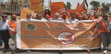 المبادرة تقود مظاهرة شعبية كبيرة في رام الله لتوسيع مقاطعة البضائع والمنتجات الإسرائيلية