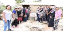 الاحتفال بوضع حجر الأساس لإنشاء أول قرية بيئية للشباب في فلسطين