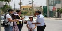 شرطة اريحا تطلق حملة ومشروع توعية للسياحة الأجنبية