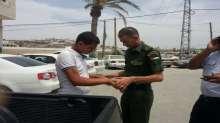 ارتباط عسكري طولكرم يؤمن الأفراج عن الطفل ابو الغياب