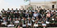 """النضال الشعبي والأمن الوطني يختتمان مخيم التعايش """" معسكر د. غوشة الاول لإعداد الكادر"""""""