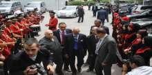 """موسى ابو زيد وجمال الرجوب يستقبلان الوفود الدولية المشاركة في """"المؤتمر الدولي حول الإدارة العامة"""""""