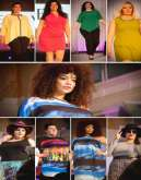 بالصور: أول عرض أزياء نسائي مقاس «XXXXL» في بريطانيا