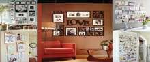 بالصور: 10 أفكار لتحويل جدران المنزل إلى معارض فنية