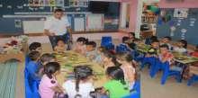 أطفال شفاعمرو يبدعون في المكتبة البلدية العامة