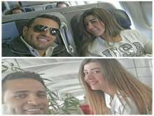 "بالصور: محمد نور يُفاجئ زوجته بتغيير شكلها مع ""جويل"" بعد خسارة وزنها"