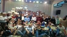 حفل تخريج دورات اسعاف اولي في محافظة نابلس