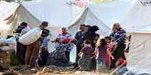 """اعتصام فلسطيني أمام وكالة الاونروا في جل البحر احتجاجا"""" على تقليص الخدمات"""