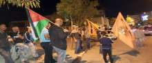 المبادرة الوطنية في أبو ديس تطلق خيمة رمضانية وتحتفل بانتصار الاسير خضر عدنان على سجانه