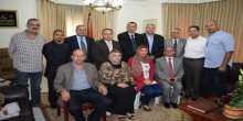 وفد مقدسي يقدم التعازي في السفارة المصرية بوفاة المستشار بركات
