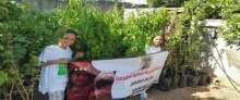 البدء بفعالية زراعة 1200 شجرة مثمرة في قرية دير أبو مشعل غرب رام الله