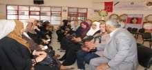 الجبهة الديمقراطية والاتحاد العام للمرأة يقيما بيت عزاء للرفيقة نهاية محمد في مدينة غزة