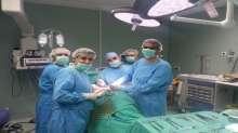 اجراء ستة عمليات نوعية لزراعة الكلى في مجمع فلسطين الطبي
