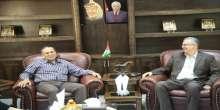 محافظ طولكرم عصام أبو بكر يستقبل مدير عام اللجنة العلمية في الأمن الوطني