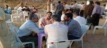 صور...ملتقى شباب الخدمات الطبيه يقيم إفطار جماعي في غزة