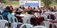 هيئة الإغاثة الإنسانية التركية تقيم إفطارًا جماعيًا لعائلات فقيرة في غزة