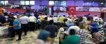 الجاليه الفلسطينييه تقيم امسيه رمضانييه بتركيا