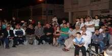بعد عشرون عاما..حركه فتح في البلدة القديمة تحيي حفلا دينيا في أزقة البلدة و شارع الشهداء
