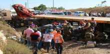 صورة: 4 قتلى في حادث سير شرقي رام الله
