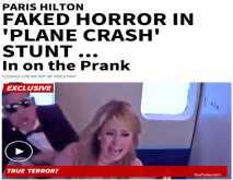 """موقع أجنبي يفضح برنامج """"رامز """":حلقة باريس هيلتون مفبركة..وكانت تعلم بالمقلب كاملا قبل صعودها الطائرة"""
