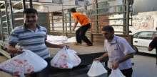 زكاة الشجاعية توزع 2000 وجبة إفطار علي الفقراء وتنفذ سلسلة مشاريع