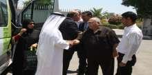 نائب محافظ أريحا والأغوار يستقبل وفد المؤسسة الخيرية الملكية البحرينية