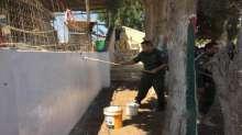 قوات الأمن الوطني الفلسطيني تشارك في تشييد وترميم أضرحة شهداء الجيش العراقي