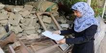 حنان انتشلت من تحت أنقاض منزلها .. وحصلت على المرتبة التاسعة في الفرع العلمي على محافظة خان يونس