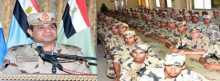 السيسي للجنود والضباط: الإستقرار في مصر إستقرار للعالم كله