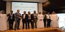 """فريقا جامعة أبوظبي يفوزان بجائزتي """"الابتكار والرئيس التنفيذي"""" في مسابقة """"برنامج الشركة"""""""