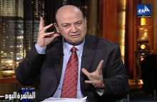 عمرو أديب لرامز جلال: مبتجبنيش ليه فى مقالبك.. ده انا برجع كويس وهعمل متفاجئ وهضربك بشويش
