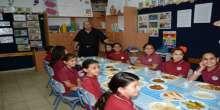 في مدرسة الشافعي - إقامة وجبة إفطار رمضاني لجميع طلاب المدرسة