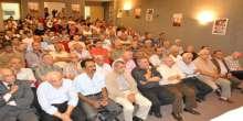 شعبة صيدا لحركة فتح تنظم ندوة سياسية بالذكرى الاولى للشهيد محمد ابوخضير في بلدية صيدا