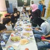 أمسية في مخيم شعفاط بذكرى استقلال الجزائر