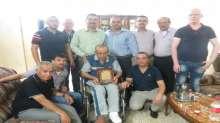 إدارة نادي قلقيلية الأهلي تكرم الأستاذ عبد الله عامر واحمد بدير