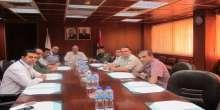 رئيس غرفة تجارة نابلس يستقبل مسؤولي العلاقات العامة في الاجهزة الامنية في نابلس