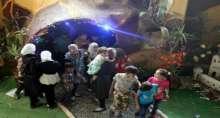 مدينة ألعاب تحت الأرض تعيد البهجة لأطفال سوريا
