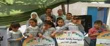 اللجان الشعبية للاجئين بالوسطى تهدد بأتخاد اجراءات تصعيدية اتجاه الوكالة
