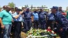 الشرطة والأجهزة الأمنية تشيع جثمان الشهيد الملازم أول حسام ياسين إلى مثواه الأخير في جنين