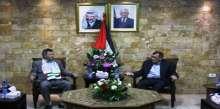 الفتياني يستقبل الوفود الدولية المشاركة في الملتقى الثقافي التربوي الفلسطيني السابع