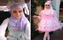 بالصور:  فتاة مسلمة تستوحي أزياء للمحجبات من الموضة اليابانية