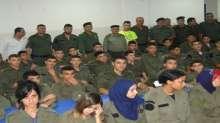 قوات الأمن الوطني الفلسطيني تستقبل المخيم الصيفي فلسطين في عيون أبناء الشهداء السادس
