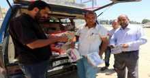 بلدية خان يونس تتلف 100 كجم حلويات وسكاكر للأطفال