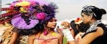 أجمل النساء في سباقات الفروسية