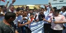 محافظ الاسماعيلية يشارك في انطلاق مسيرة شبابية على ضفاف بحيرة التمساح
