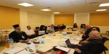 المباردة المسيحية الفلسطينية تنظم اجتماعا في كلية دار الكلمة في بيت لحم