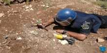 الشرطة تتلف جسما مشبوها في نابلس